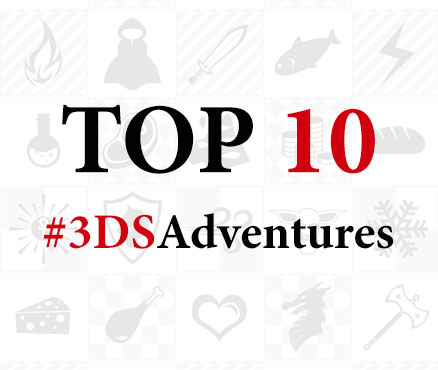 Top 10 #3DSAdventures for 2016