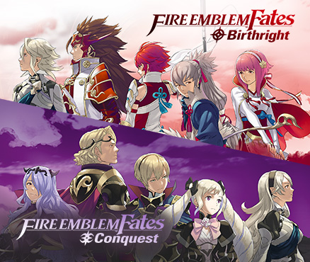Choose your path at our official Fire Emblem Fates website!