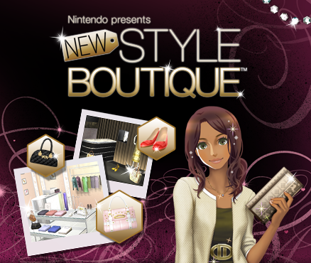 Download a new fashion collection for Nintendo presents: New Style Boutique!