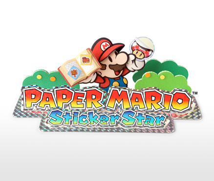 Prepare to be glued to your Nintendo 3DS with Paper Mario: Sticker Star