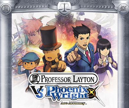 Two pinnacles of law and order unite in Professor Layton vs Phoenix Wright: Ace Attorney on Nintendo 3DS