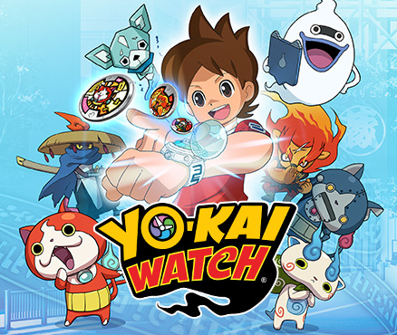 Игра-сенсация YO-KAI WATCH выйдет на Nintendo 3DS в Европе
