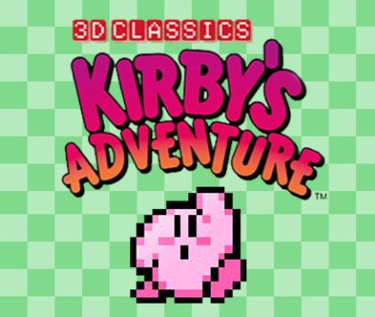 3D Classics Kirby's Adventure™
