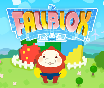 Mallo returns to face the challenges of gravity in Fallblox on Nintendo eShop