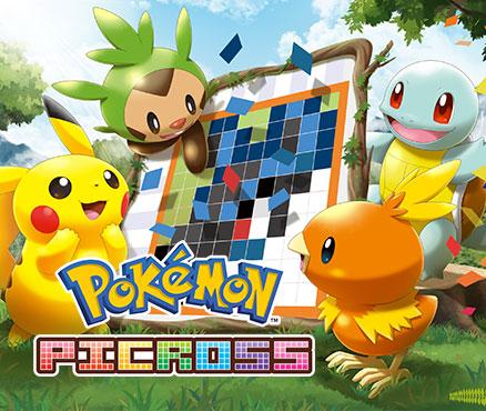Pok mon picross programas descargables nintendo 3ds for Mural 1 pokemon picross