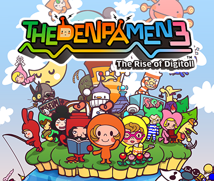 The Denpa Men 3: The Rise of Digitoll, 3DS