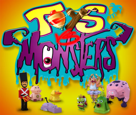 TOYS VS MONSTERS
