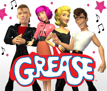 Grease The Movie Games