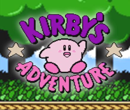 Kirby's Adventu... Kirby Spiele