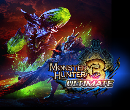 Take up arms in free demos of Monster Hunter 3 Ultimate on Wii U and Nintendo 3DS, out now!