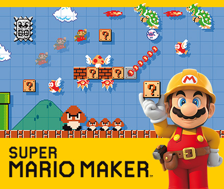 Create all sorts of original wallpapers with Super Mario Wallpaper Maker, available now!
