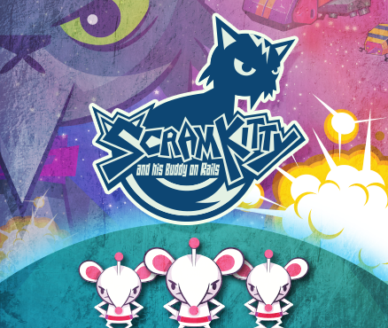 Scram Kitty and his Buddy on Rails