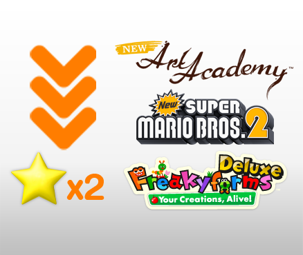 Choose the download version of Nintendo 3DS packaged software and receive additional benefits!