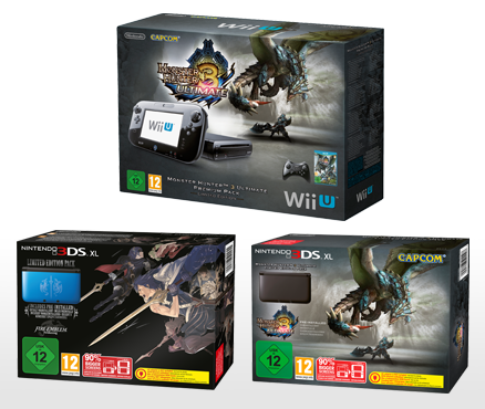 New hardware bundles for Nintendo 3DS XL and Wii U due out in coming months