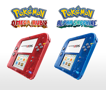 Nintendo 2DS Transparent Red and Nintendo 2DS Transparent Blue releasing on 7th November