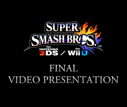Join us for the Super Smash Bros. for Nintendo 3DS & Wii U Final Video Presentation on 15th December!