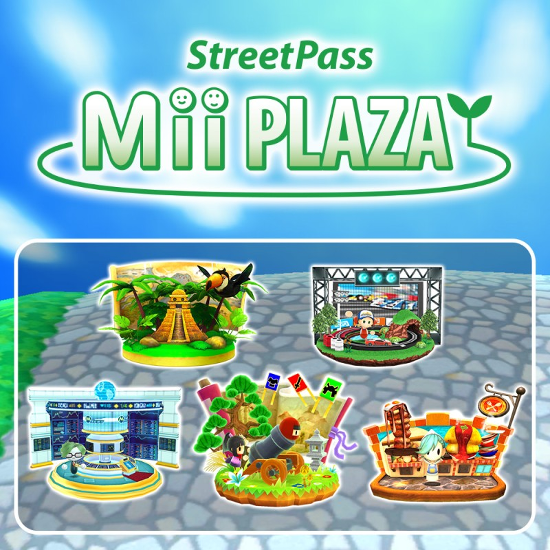 New StreetPass games!