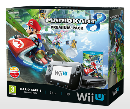 Start your engines on May 30th with the Mario Kart 8 Premium Pack - Special Edition Wii U hardware bundle