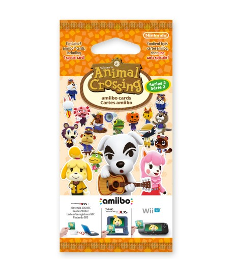 Cartes amiibo Animal Crossing Série 2
