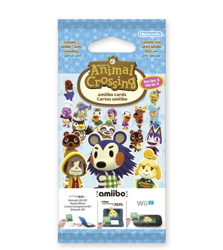Cartes amiibo Animal Crossing Série 3