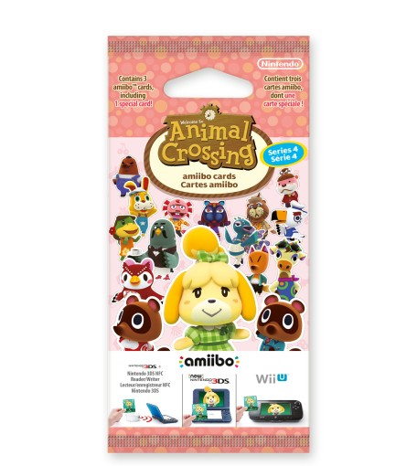 Tarjetas amiibo Animal Crossing serie 4