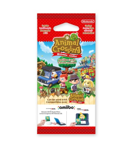 карты amiibo серии Animal Crossing: New Leaf
