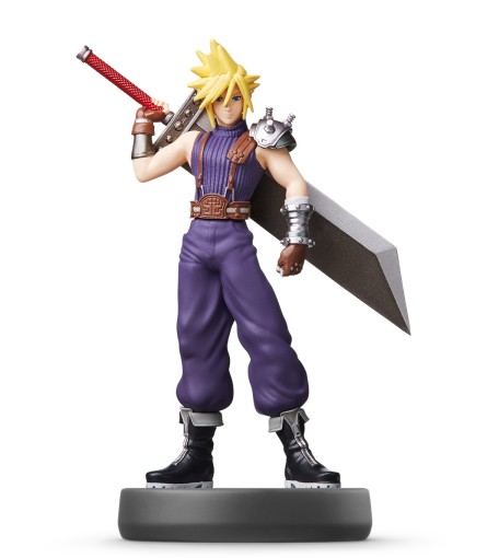 Ci Amiibo Gallery Supersmashbroscollection Cloud Unlock Characters Smash Bros Ultimate