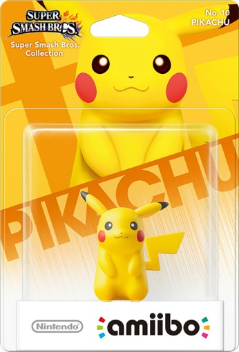 Pikachu Super Smash Bros Collection Nintendo