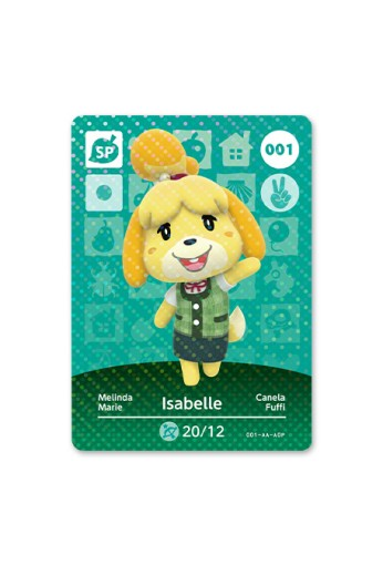 Carte amiibo di Animal Crossing - serie 1