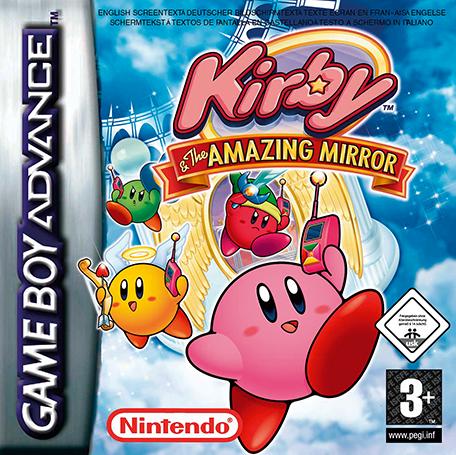 Kirby Y El Laberinto De Espejos Game Boy Advance Juegos Nintendo