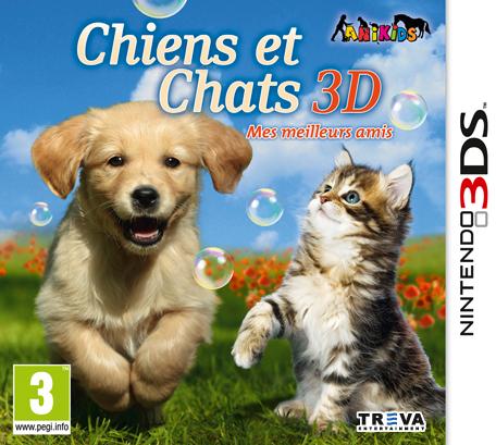 Chiens et chats 3d mes meilleurs amis nintendo 3ds for Meilleur 3d