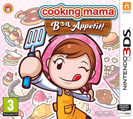cooking mama bon app tit nintendo 3ds jeux nintendo