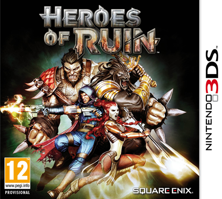 Heroes Of Ruin Nintendo 3ds Games Nintendo