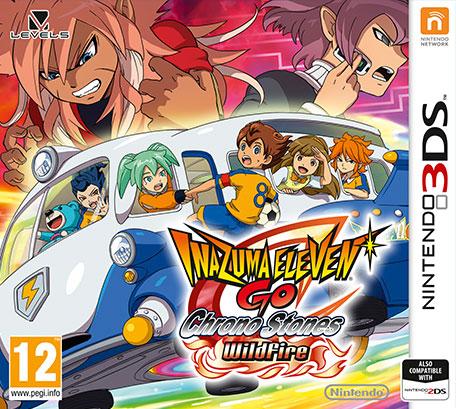 Inazuma Eleven GO Chrono Stones Wildfire Decrypted 3DS EUR