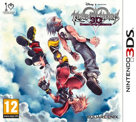 Kingdom Hearts 3d Dream Drop Distance Nintendo 3ds Games