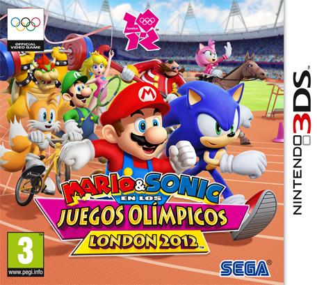 Mario Sonic En Los Juegos Olimpicos London 2012 Nintendo 3ds