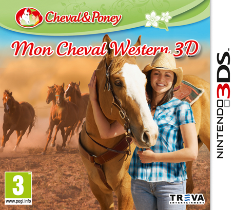 Mon Cheval Western 3D