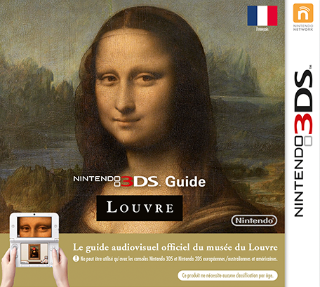 Nintendo 3DS Guide Louvre
