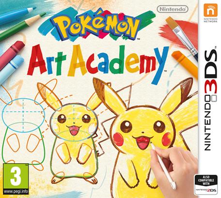 Pok\u00e9mon Art Academy  Nintendo 3DS  Games  Nintendo