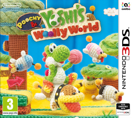Image result for yoshi poochy wooly world