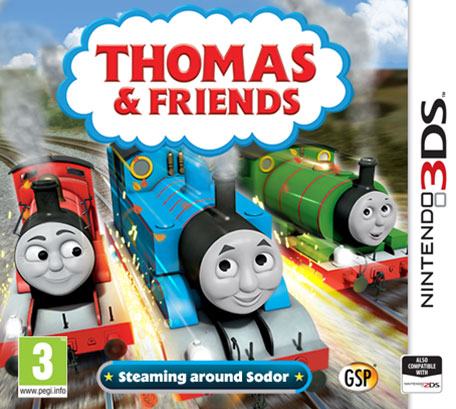 thomas and friends steaming around sodor nintendo 3ds games