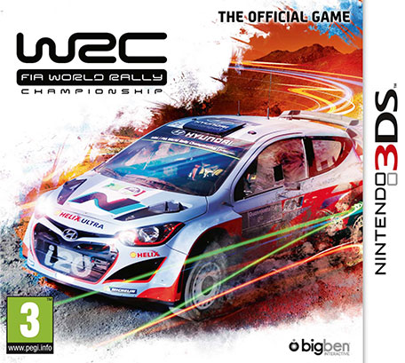 wrc fia world rally championship the official game nintendo 3ds jeux nintendo. Black Bedroom Furniture Sets. Home Design Ideas