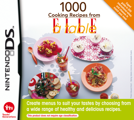 1000 cooking recipes from elle table nintendo ds games nintendo 1000 cooking recipes from elle table forumfinder Choice Image