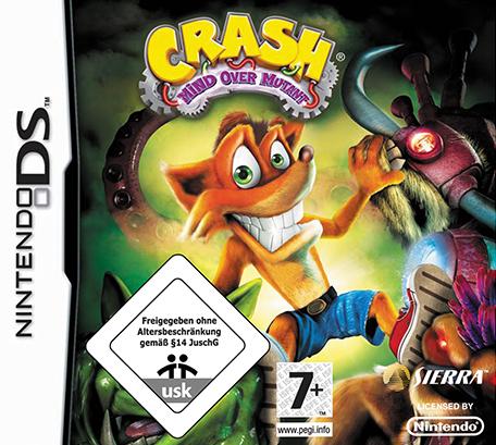 Crash Guerra Al Coco Maniaco Nintendo Ds Juegos Nintendo