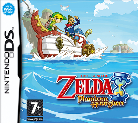 The Legend Of Zelda Phantom Hourglass Nintendo Ds Games Nintendo