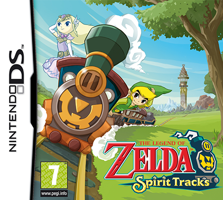 The Legend Of Zelda Spirit Tracks Nintendo Ds Juegos Nintendo