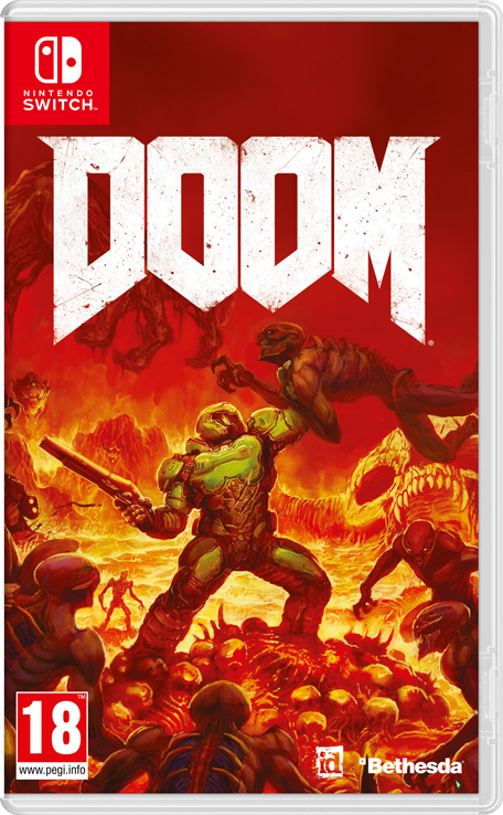 Doom Nintendo Switch Juegos Nintendo