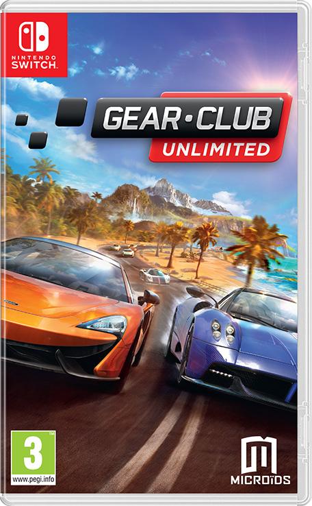 Gear Club Unlimited Nintendo Switch Games Nintendo