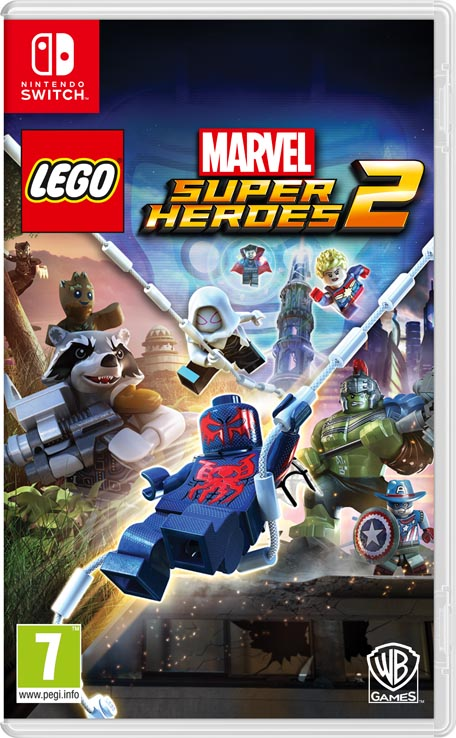 Lego Marvel Super Heroes 2 Nintendo Switch Juegos Nintendo