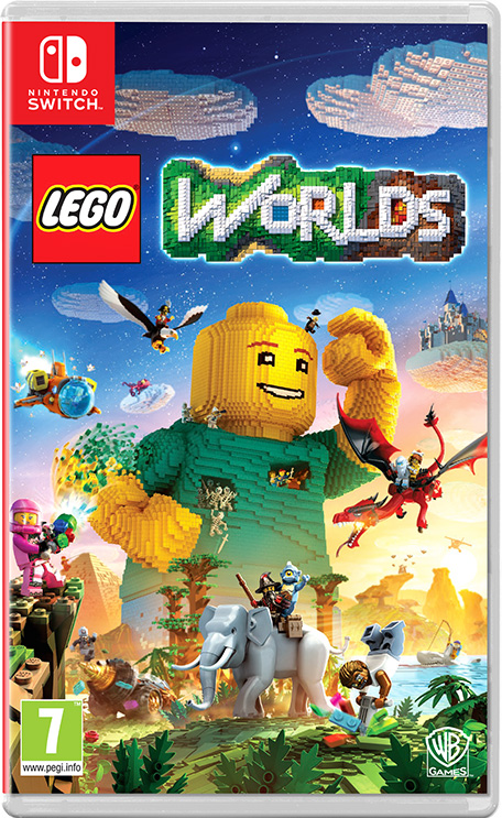 Lego Worlds Nintendo Switch Juegos Nintendo